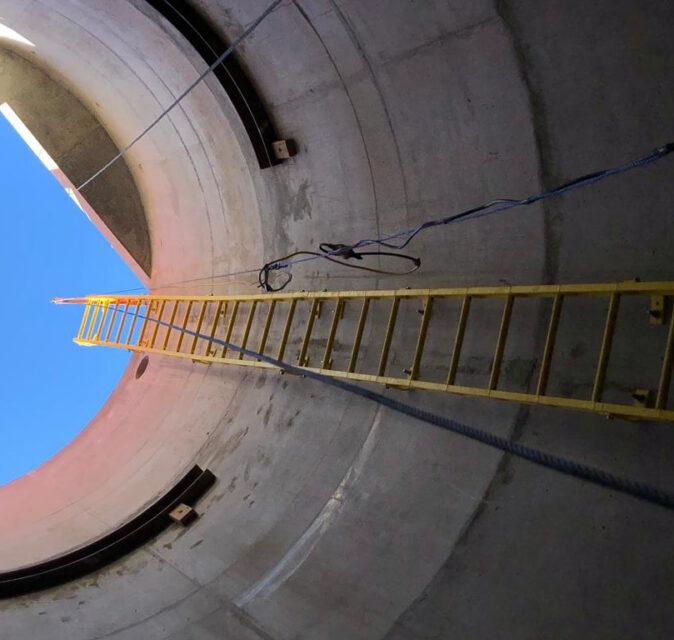 Aintree Sewer Pumping Station, Rockbank