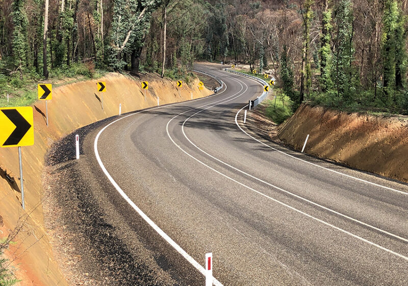 Shelley-Walwa Road Upgrade